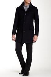 Billy Reid Astor Wool Coat Blue