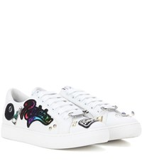 Marc Jacobs Empire Embellished Sneakers White