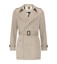 Burberry Brit Long Double Breasted Trench Coat Male