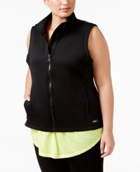 Calvin Klein Performance Plus Size Scuba Vest Black