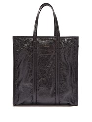 Balenciaga Bazar Shopper M Leather Bag Black