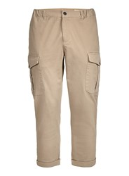 Selected Yellow Homme Relaxed Fit Cargo Trousers