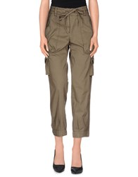 Henry Cotton's Trousers Casual Trousers Women Military Green