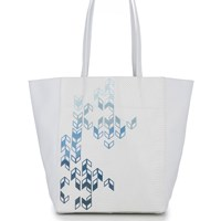 August The Marais Tote Ombre Arrow Print
