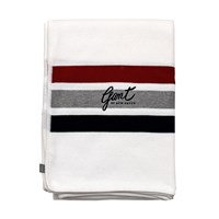 Gant Club Stripe Knit Throw Multicolour