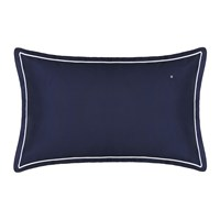 Tommy Hilfiger 100 Cotton Sateen Pillowcase Navy 50X80cm