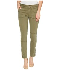 Calvin Klein Jeans Garment Dyed Cargo Ankle Skinny Pants Ivy Mist Women's Casual Pants