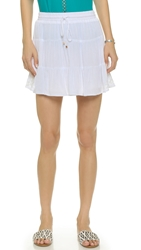 Ella Moss Rosie Mini Skirt White