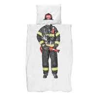 Snurk Firefighter Duvet Set Twin