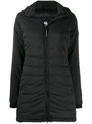 Canada Goose Hooded Padded Coat Black