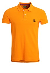 United Colors Of Benetton Polo Shirt Orange