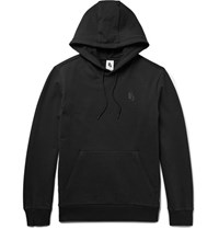 Nikelab Essentials Loopback Stretch Cotton Jersey Hoodie Black