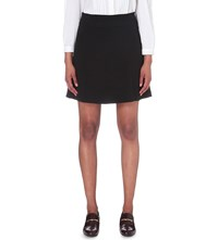 Claudie Pierlot Soledad Stretch Woven Skirt Noir