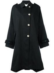 Kenzo Oversized Trench Coat Black