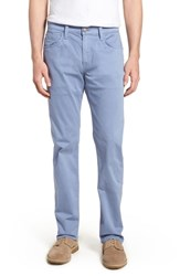 Mavi Jeans Zach Straight Fit Twill Pants Stone Washed Twill