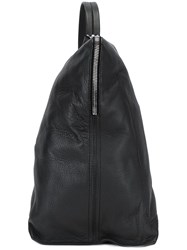 Rick Owens Bucket Shoulder Bag Black