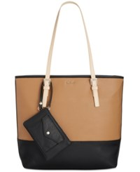 Nine West Deda Tote Camel Black Desert