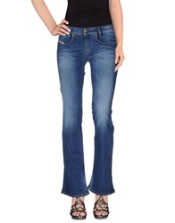 Diesel Denim Denim Trousers Women Blue