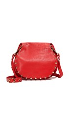 Cynthia Rowley Tabitha Saddle Bag Red