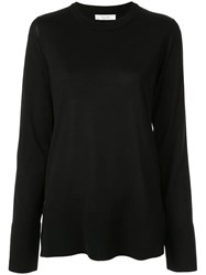 The Row Margo Long Sleeved Blouse White