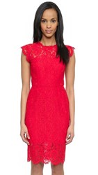 Rachel Zoe Suzette Fitted Dress Rouge