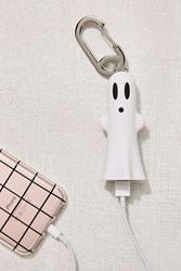 Urban Outfitters Buqu Glow In The Dark Ghost Portable Power Bank White