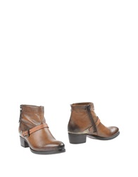 Manas Design Manas Ankle Boots Brown
