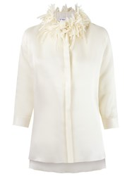 Gloria Coelho Embellished Shirt White