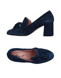 Anna F. Loafers Dark Blue
