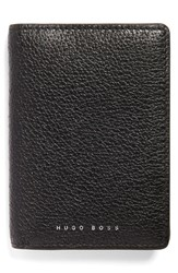 Men's Boss Peccary Leather Bifold Wallet