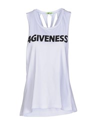 4Giveness Topwear Vests Women White