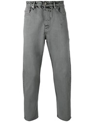 Golden Goose Deluxe Brand Tapered Jeans Grey