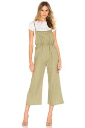 Line And Dot Brynn Jumpsuit Sage