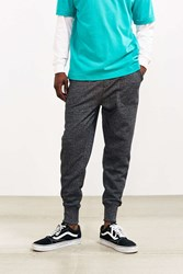 Urban Outfitters Uo Twisted Fleece Jogger Pant Charcoal