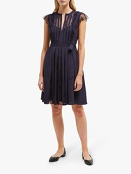 French Connection Eva Dress Utility Blue