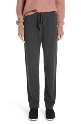 Vince Slouch Jogger Pants Heather Charcoal