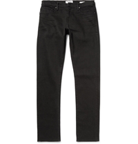 Frame Denim L'homme Noir Slim Fit Denim Jeans Black