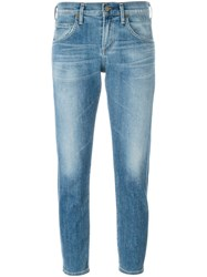 Citizens Of Humanity Cropped Slim Jeans Blue