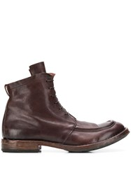 Moma Minsk Boots Brown