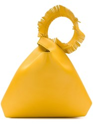 Elena Ghisellini Bucket Tote Yellow