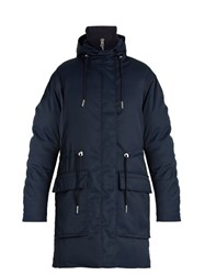 Acne Studios Alston Hooded Down Parka Navy