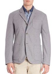 Faconnable Classic Reversible Jacket Light Grey