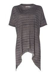 Label Lab Slade Stripe Top Grey