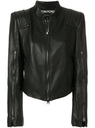 Tom Ford Epaulet Jacket Black