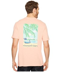 Vineyard Vines Short Sleeve Beach Time Slub T Shirt Toucan Men's T Shirt Khaki