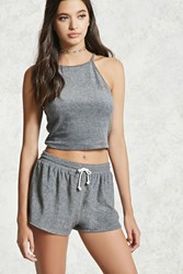 Forever 21 French Terry Dolphin Shorts