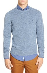 Men's Original Penguin Heritage Slim Fit Lambswool Crewneck Sweater Infinity