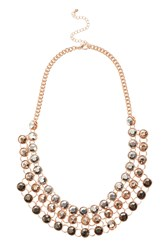 Coast Tiana Ombre Necklace Rose Gold