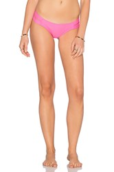 Pilyq Strappy Madrid Bikini Bottom Pink