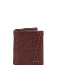 Paul Smith Grained Leather Bi Fold Wallet
